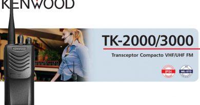 Portátil Kenwood TK2000 VHF, TK3000 UHF