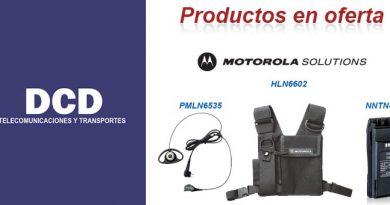 Ofertas del MES accesorios MOTOROLA