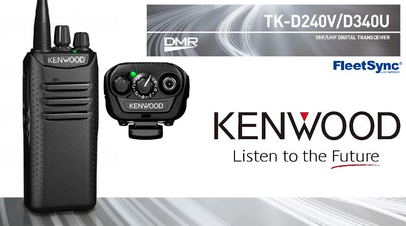 Portátil digital Kenwood TK-D240 / TK-D340