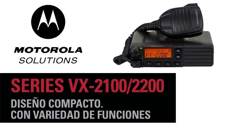 Radio Base análoga VX-2200 de Motorola